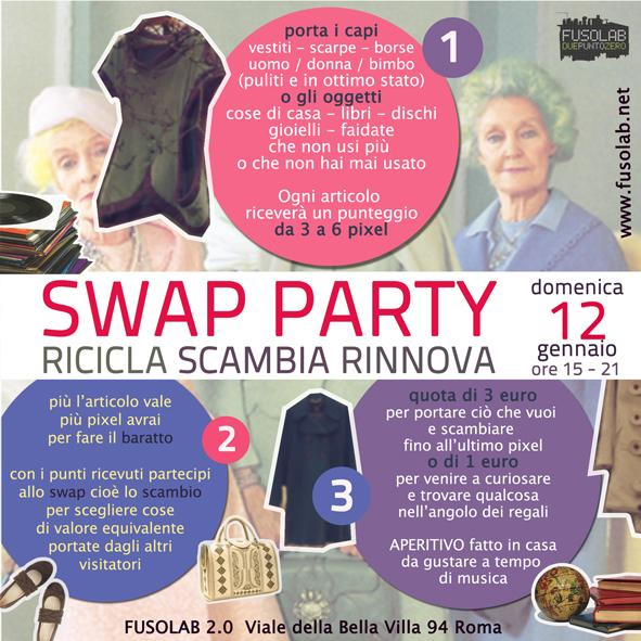 20140112 Swap Party Retro