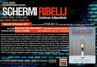 "Schermi Ribelli - Proiezione ""Palestina per principianti – Educazione sentimentale di un bassista rockabilly"" di Francesco Merini - Venerdì 18 Gennaio"