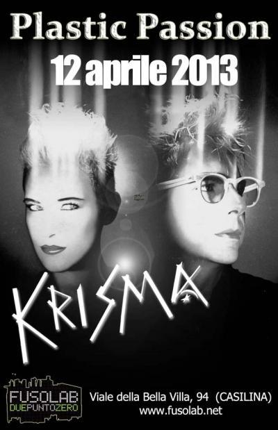 Plastic Passion presenta: Krisma in concerto - Venerdì 12 Aprile