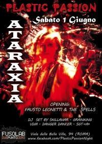 Plastic Passion presenta: Ataraxia in concerto - Sabato 1 Giugno