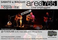 LIVE@FUSOLAB: Area765 + Acquavite in concerto - Sabato 4 Maggio
