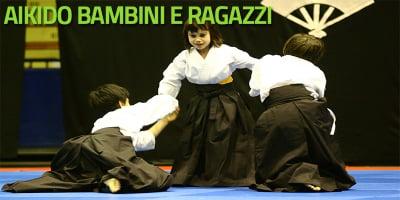 Aikido bambini e ragazzi (a partire da 4 anni)
