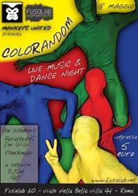 ColorRandom! -pigmenti liberi- Sabato 18 Maggio