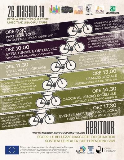 """Heritour """"Le Bellezze Del Quartiere In Bicicletta"""""""