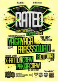 X RATED DANCEHALL YARD - Sabato 18 Ottobre