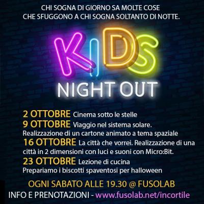 Kids Night Out - Ottobre