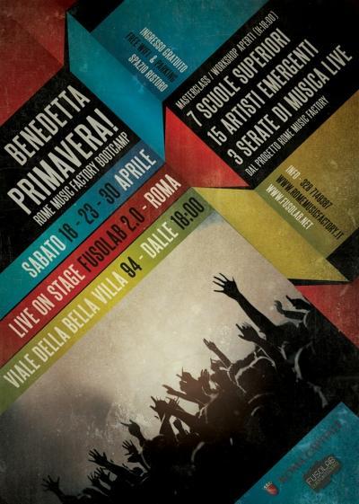 BENEDETTA PRIMAVERA! - RomeMusicFactory Bootcamp - 16-23-30 Aprile