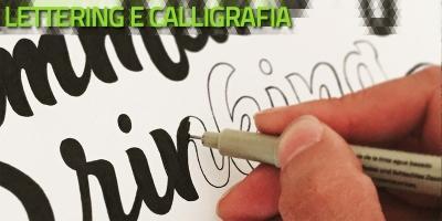 Calligrafia, lettering e font