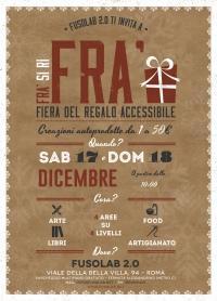 Fiera Regalo Accessibile - 17 e 18 dicembre
