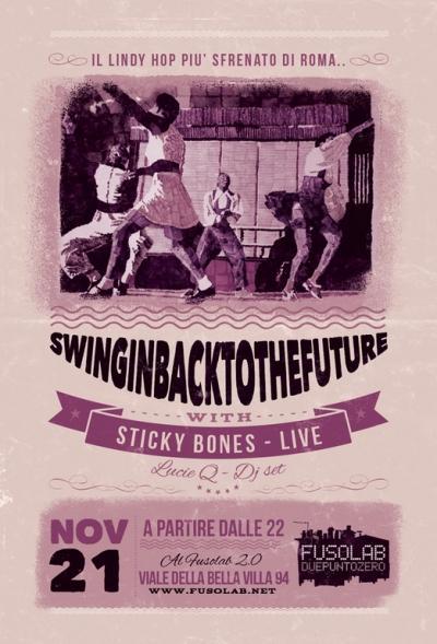SWINGIN' BACK TO THE FUTURE - Sticky Bones live