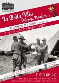 La Bella Villa – Milonga Popolare - 30 Marzo