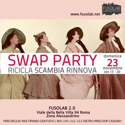 Swap Party d'autunno 2014: Ricicla - Scambia - Rinnova