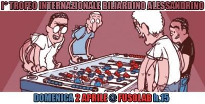 I° Trofeo Internazionale Biliardino Alessandrino