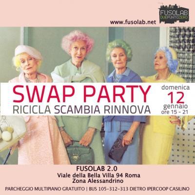 Swap Party D'Inverno: Ricicla - Scambia - Rinnova