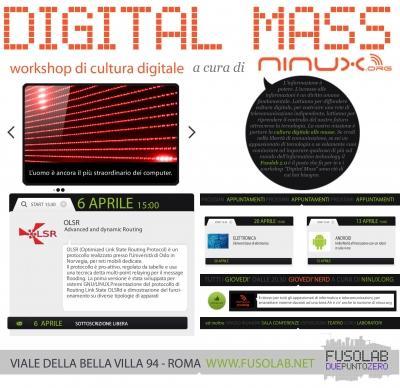 Digital Mass #6: Advanced Dynamic Routing con OLSR - Venerdì 6 Aprile