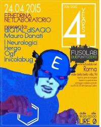 Ephedrina - INICOLABUG, I NEUROLOGICI, dIGITAL dISAGIO, HERGO, OGF e MAURO DONATI