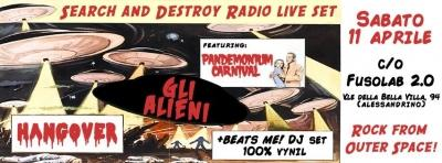 S&D RADIO LIVE SET - Gli Alieni, Pandemonium Carnival, Hangover