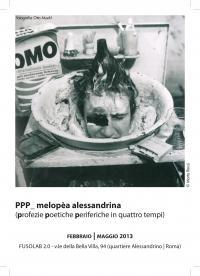 PPP_ melopèa alessandrina - Domenica 26 Maggio