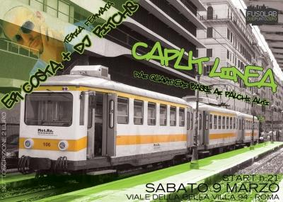 Caput Linea Fermata 3 - SPECIAL GUEST: ERCOSTA e DJ PITCH8 - Sabato 9 Marzo