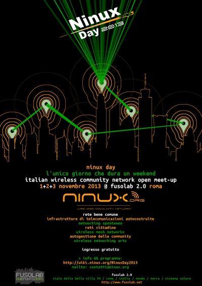 Ninux Day: 1-3 Novembre