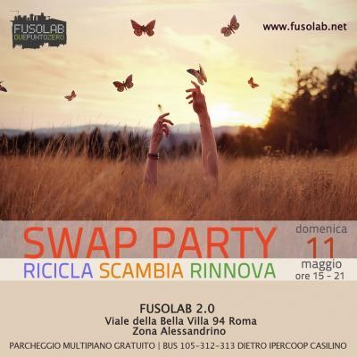 Swap Party di primavera: Ricicla - Scambia - Rinnova