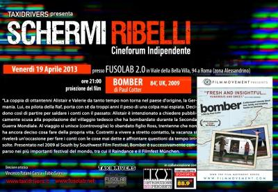 "Proiezione ""Bomber"" - Venerdì 19 Aprile"
