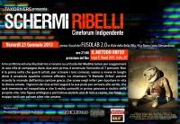 Schermi Ribelli - Proiezione Il Metodo Orfeo  di Filippo Sozzi - Venerdì 25 Gennaio