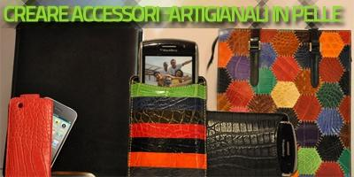 Creare accessori artigianali in pelle