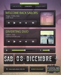 WELCOME BACK SAILORS + DIVERTING DUO  in concerto - Sabato 8 Dicembre