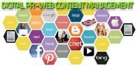 Digital PR & Web Content management