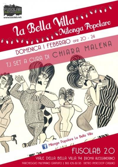 La Bella Villa – Milonga Popolare - Domenica 1 Febbraio 2015