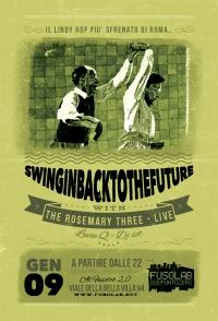 SWINGIN' BACK TO THE FUTURE - THE ROSEMARY THREE (live) + LucieQ (dj set)