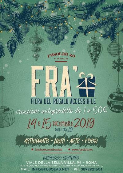 Fiera Regalo Accessibile - 14 e 15 dicembre 2019