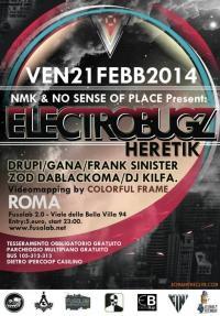 NMK & No Sense Of Place  presentano ELECTROBUGZ