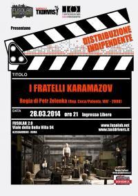 """Proiezione """"I fratelli Karamazov"""""""