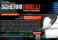 "Schermi Ribelli - Proiezione ""Mani fasciate "" di Vincenzo Notaro - Venerdì 11 Gennaio"