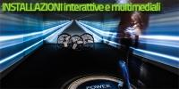Installazioni interattive e multimediali