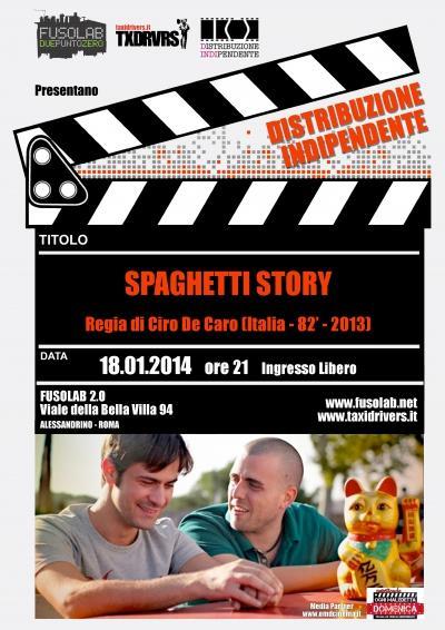 Proiezione Spaghetti Story