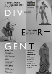 DIV-ERGENT - 12 H Music No Stop