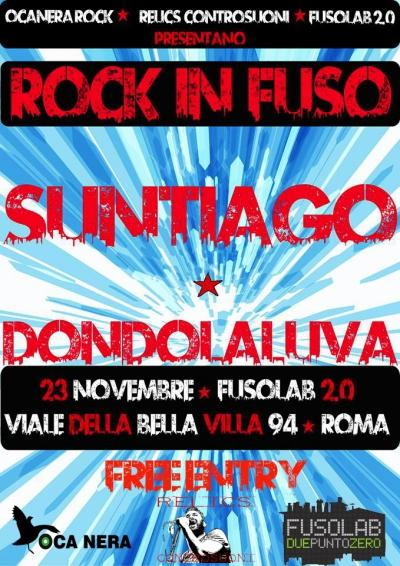 RockInFuso : Suntiago + Dondolaluva Live