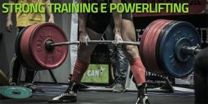 Strong training - Powerlifting - Strongman
