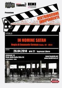 """Proiezione """"In nomine satan"""""""