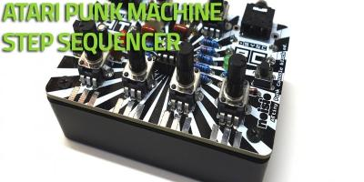 Workshop Elettronica e musica: costruiamo un Atari Punk Machine Step Sequencer