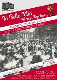 La Bella Villa – Milonga Popolare - 6 Aprile