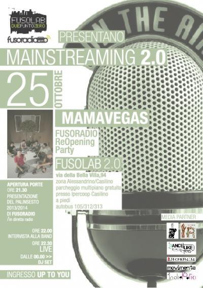MAINSTREAMING 2.0 OPENING PARTY:  MAMAVEGAS