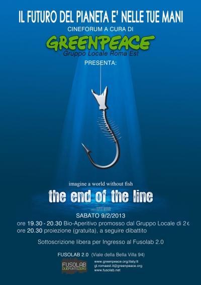 Proiezione The end of the line di Rupert Murray  - Sabato 9 Febbraio