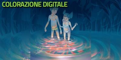 Colorazione digitale - Digital painting