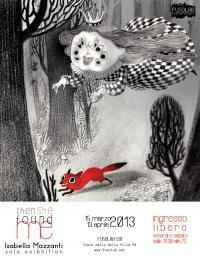 """Mostra di Illustrazione """"THEN SHE FOUND ME"""" di Isabellla Mazzanti"""