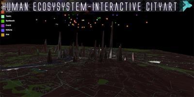 Human Ecosystem - Interactive cityart