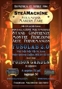 STEAMACHINE- La prima Steampunk Makers Faire italiana